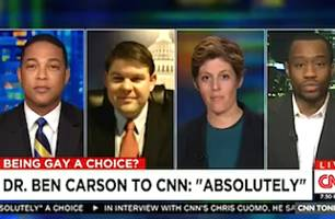Don Lemon Grills Conservative Guest: 'Could You Choose to Be Gay?'